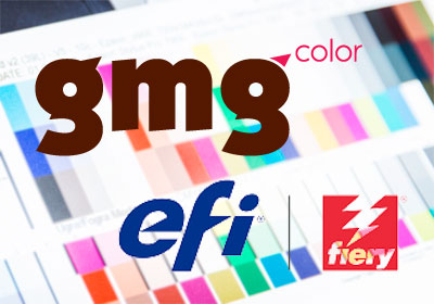 Profi-Colormanagement- und Proof-Software von GMG und EFI